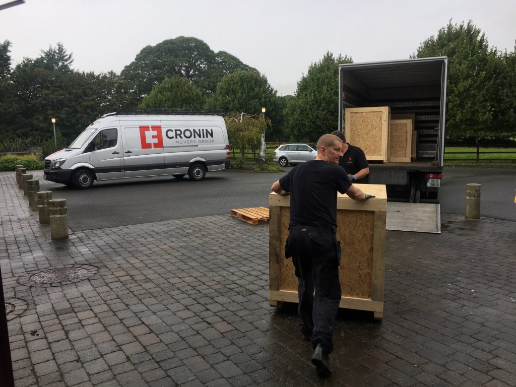 cronin movers ireland - moving services