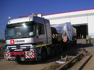 cronin movers - heavy lift - oversize and awkward moves