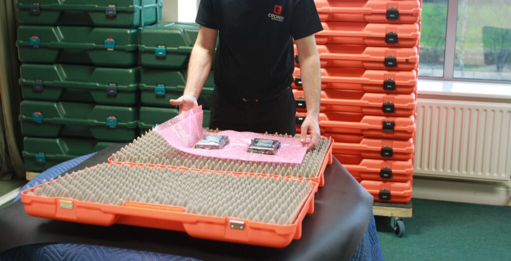 Cronin Movers Ireland - IT equipment relocation - Technical Distribution