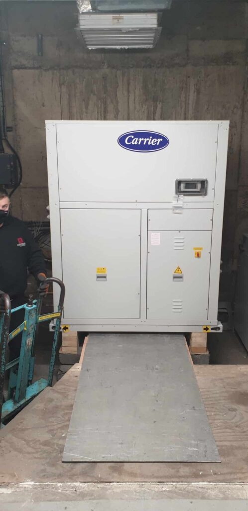 Moving Chiller System