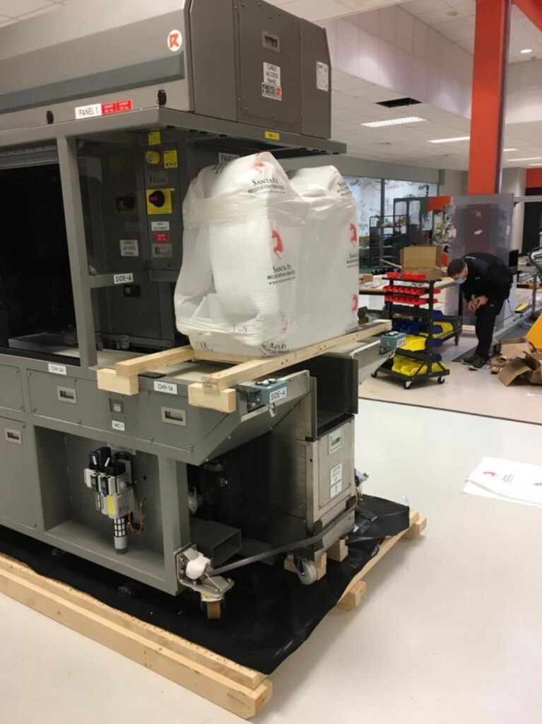 Robotic Automation Equipment Move