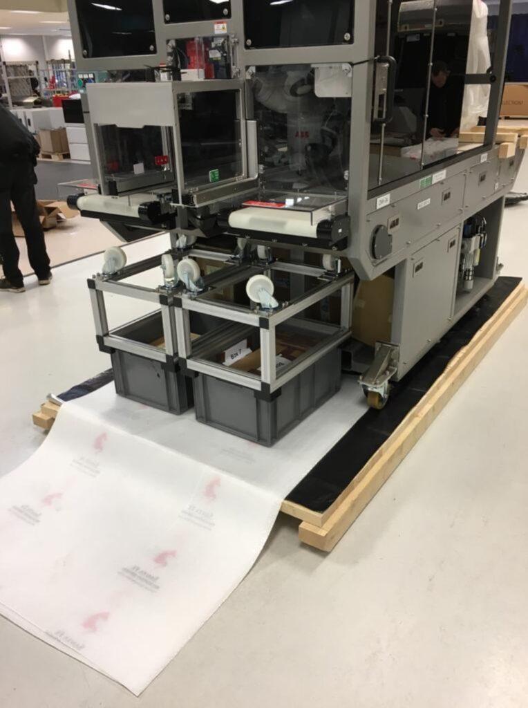 Robotic Equipment Machinery Move