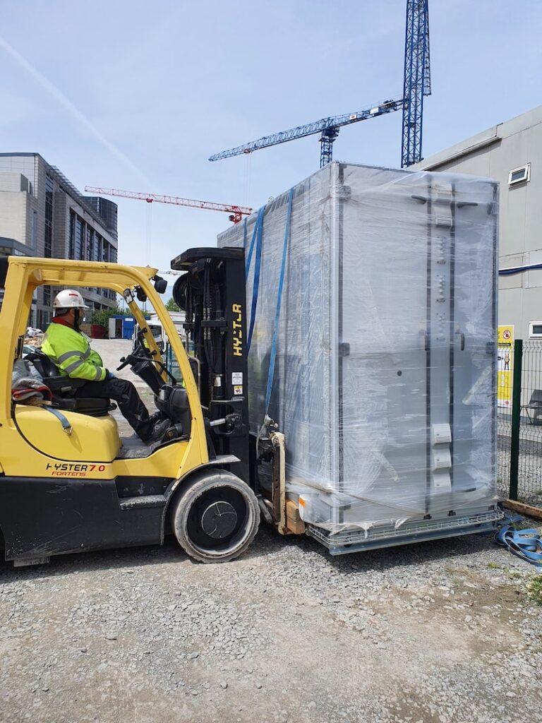 transporting AHU